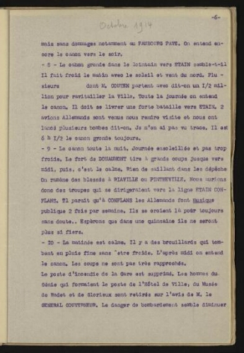 Tapuscrit du capitaine Martin (I, p.   6)